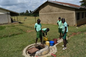 The Water Project: Mutoto Primary School -  School Dug Well