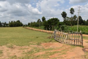 The Water Project: Mutoto Primary School -  School Gate From Inside
