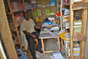 The Water Project: Mutoto Primary School -  Teacher In Charge Of Library