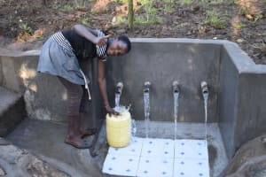 The Water Project: Eshimuli Community, Mbayi Spring -  Cheers And God Bless You
