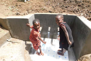The Water Project: Eshimuli Community, Mbayi Spring -  Mbayi Spring Is Safe For All Ages
