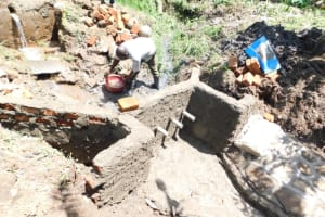 The Water Project: Eshimuli Community, Mbayi Spring -  Pipes Set