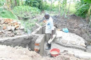 The Water Project: Eshimuli Community, Mbayi Spring -