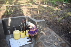 The Water Project: Eshimuli Community, Mbayi Spring -  Thank You The Lord Bless You