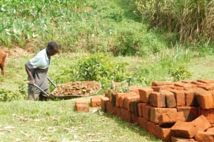 The Water Project: Mukhuyu Community, Namukuru Spring -  Community Members Working Together