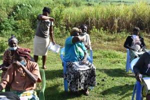 The Water Project: Mukhuyu Community, Namukuru Spring -  Coughing In Elbows