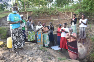 The Water Project: Mukhuyu Community, Namukuru Spring -  Song And Dance Of Victory