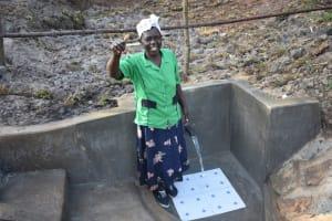 The Water Project: Mukhuyu Community, Namukuru Spring -  Success At Namukuru Spring