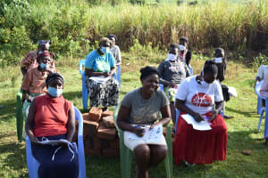 The Water Project: Mukhuyu Community, Namukuru Spring -  The Session Was Full Of Interactions