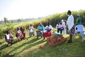 The Water Project: Mukhuyu Community, Namukuru Spring -