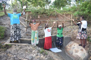 The Water Project: Mukhuyu Community, Namukuru Spring -  Victorious Handing Over