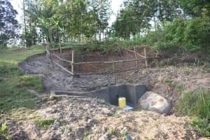 The Water Project: Mukhuyu Community, Namukuru Spring -  View Of Namukuru Spring