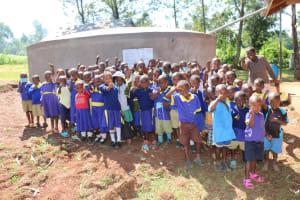 The Water Project: Mungabira Primary School -  Cheers