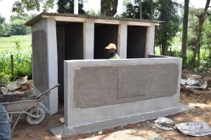 The Water Project: Mungabira Primary School -  Construction Of V I P Latrine