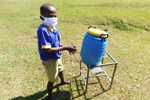 The Water Project: Mungabira Primary School -  Hand Washing Session