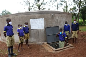 The Water Project: Mungabira Primary School -  Quenching Thirst
