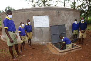 The Water Project: Mungabira Primary School -  Safe And Clean Hands