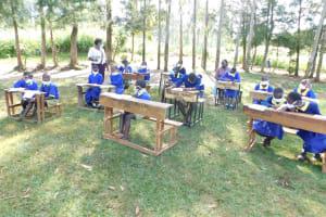 The Water Project: Mungabira Primary School -  Trainer Emma In Action