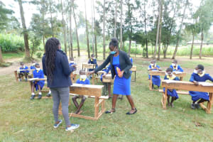 The Water Project: Mungabira Primary School -  Training Materials