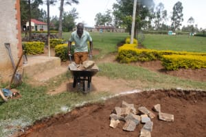 The Water Project: Epanja Secondary School -  Community Member Helping