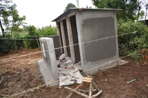 The Water Project: Epanja Secondary School -  Construction Of V I P Latrine