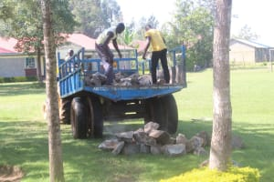 The Water Project: Epanja Secondary School -  Delivery Of Building Materials