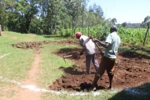 The Water Project: Epanja Secondary School -  Excavation