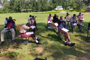 The Water Project: Epanja Secondary School -  Learning The Cover Coughs