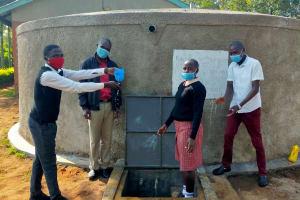 The Water Project: Epanja Secondary School -  Plenty Of Water