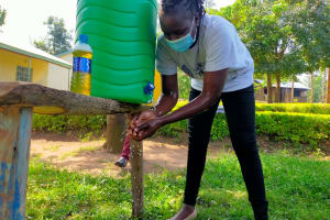The Water Project: Epanja Secondary School -  Trainer Adelaide Demonstrating