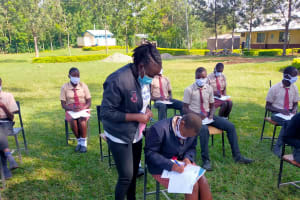 The Water Project: Epanja Secondary School -  Trainer Adelaide Handling Registration