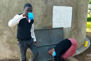 The Water Project: Epanja Secondary School -  Water At Epanja Secondary School