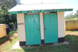 The Water Project: ACK St. Luke's Shanderema Primary School -  Boys Latrine