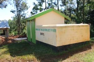 The Water Project: ACK St. Luke's Shanderema Primary School -  Boys Latrines