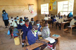 The Water Project: ACK St. Luke's Shanderema Primary School -  Classroom With Students