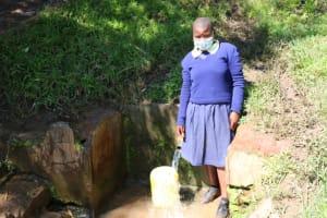 The Water Project: ACK St. Luke's Shanderema Primary School -  Everline S