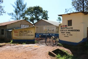 The Water Project: ACK St. Luke's Shanderema Primary School -  Gate