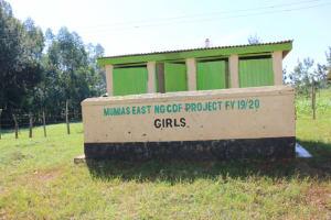 The Water Project: ACK St. Luke's Shanderema Primary School -  Girls Latrines