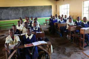 The Water Project: ACK St. Luke's Shanderema Primary School -  Students In Classroom