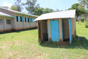 The Water Project: Bumwende Primary School -  Boys Latrine