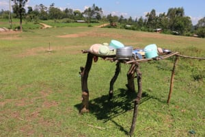 The Water Project: Bumwende Primary School -  Dishrack