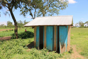 The Water Project: Bumwende Primary School -  Girls Latrines