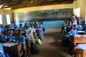 The Water Project: Bumwende Primary School -  Older Students Classroom