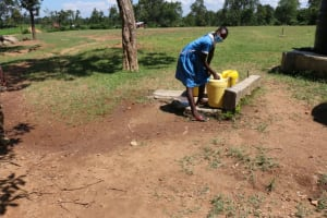 The Water Project: Bumwende Primary School -  Phelisters A Fetching Water