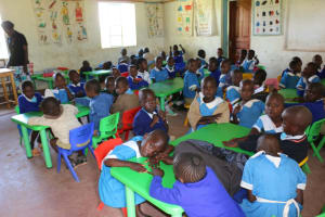 The Water Project: Bumwende Primary School -  Young Students Classsroom