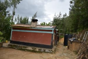 The Water Project: Kyamwau Community C -  Family Compound