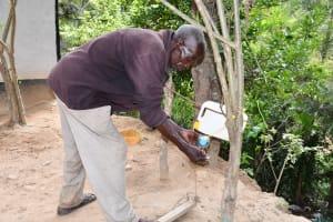 The Water Project: Kyamwau Community C -  Handwashing At Home