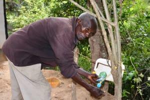The Water Project: Kyamwau Community C -  Handwashing
