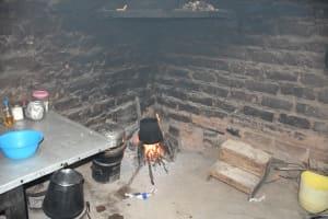 The Water Project: Kyamwau Community C -  Inside Kitchen