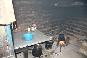 The Water Project: Kyamwau Community C -  Kitchen